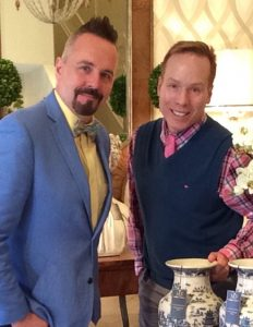 Mallory-Fields Interior Design owners David Mallory and Todd Fields